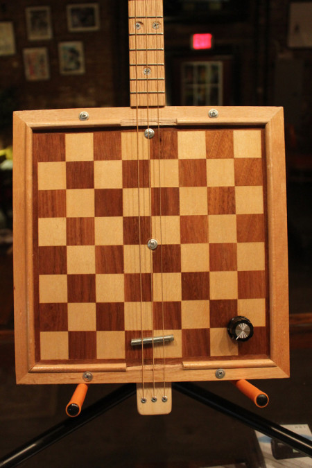Chess Board Guitar