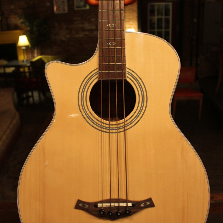 Hohner Acoustic Electric Bass
